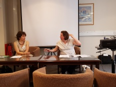 Katya and Mel are chairing COSEELIS AGM at UCL SSEES (20 June 2017)