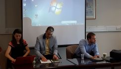 Panel: PhD research in the Slavonic collections (chair Wojciech Janik) Authoritarian Persistence and Omni-alignment: Russian, Ukrainian and Belarusian relations with China, 2006–2016 by Peter Braga; Personhood, subjectivities and everyday ethics and practice amongst Sufis in Sarajevo: researching the UCL SSEES collections by Zora Kostadinova